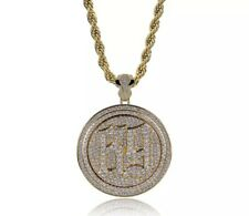 69 HipHop Rotatable Pendent Necklace