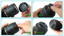 NEW 55 mm 55mm Front Pinch Lens Cover Cap for Sony Alpha DSLR Camera Snap-clips