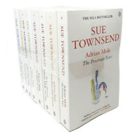 Sue Townsend Adrian Mole Series 8 Books Set Collection, The prostrate Years...