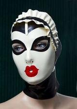 Latex rubber Fashion Mask Hood Maske Personality mask Size XS-XXL