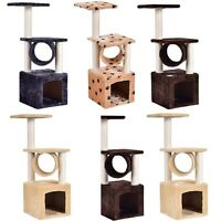 """Deluxe Cat Tree 36"""" Condo Furniture Scratch Scratching Post Pet House Play Toy"""