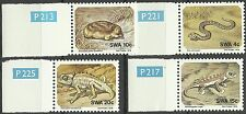 Sud Ouest Africain Swa Vipere Taupe Gecko Cameleon Viper Chameleon Mole ** 1978