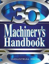MACHINERY'S HANDBOOK, 30TH EDITION, LARGE PRINT & CD-ROM SET~ERIK OBERG~2016 NR