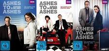 Ashes to Ashes - Zurück in Die 80er Season 1 2 3 Bbc Tv Series 9 DVD Box Edition