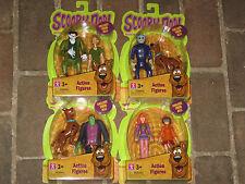 "Scooby-Doo 5"" Action Figures Shaggy Velma Daphne Frankenstein Wolfman Set of 8"