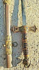 Antique Pettibone Mfg Co Knights of Templar Ceremonial Sword & Scabbard Ornate