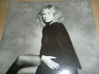 """Barbra Streisand All I Ask Of You b/w On My Way To You 7"""" Vinyl 1988 CBS BARB 3"""