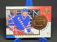 1997-98 PINNACLE MINT COLLECTIONS BRONZE WAYNE GRETZKY Insert Card #18 Rangers