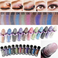 11 Colors ROLL ON EYE SHIMMER Eyeshadow Glitter Pigment Powder Body Fast Makeup