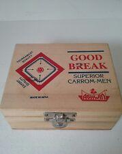 GOOD BREAK ASHWIN Wood Superior Carrommen Carrom-Men India