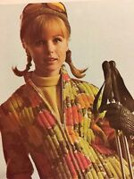 1964 Skiing Fashion Kodel Fiber Fill Aspen Ski Clothing Vintage Print Ad