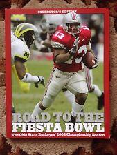 Osu Buckeyes Football 2002 Fiesta Bowl Championship Collectible Book $19.95-New!