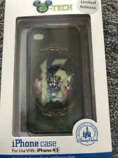Disney Paris Limited Edition Iphone 4 Case Baddies Villains Collectors