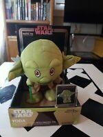 Star Wars Plush Yoda With Enamel Pin
