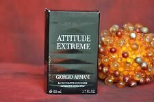 GIORGIO ARMANI ATTITUDE EXTREME EDT 50 ml., DISCONTINUED, RARE, NEW IN BOX