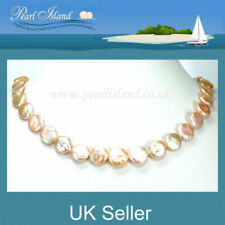 Sterling Silver Freshwater Strand/String Fine Pearl Necklaces & Pendants