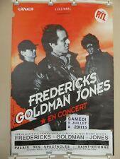 Affiche de concert de la tournée de 1994 FREDERICKS / GOLDMAN / JONES