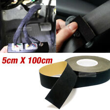 Car Auto Interior Adhesive Noise Reduction Felt Tape Black 2X39inch for INFINITI