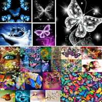 Partial Drill 5D Butterfly Diamond Painting Embroidery DIY Cross Stitch Kit Art