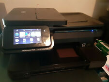 HP Photosmart 7525 Wireless All-In-One Inkjet Printer / Tested and Working