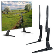 Strong Steel Universal Tabletop Tv Stand Base Tv Mount Riser Height Adjust Legs