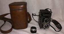VINTAGE ROLLEIFLEX  Franks & Heidecke Camera Synchro Compur With Case