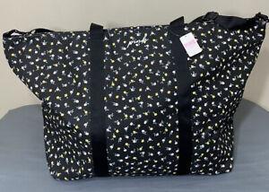 NWT Victorias Secret PINK Large Graphic Zip Close Weekender Bag/Tote