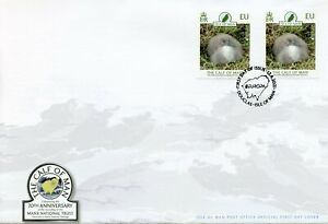 Isle of Man Europa Stamps 2021 FDC Calf of Man Manx Shearwater Birds 2v Set