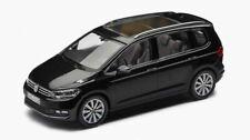 NEW GENUINE VW TOURAN DEEP BLACK METALLIC 1:43 SCALE DIECAST MODEL CAR