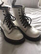 Original Dr Martens White Size 3 Boots 8 Hole
