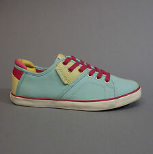 O'Neill Dally Low Azur 59.1067.01 Turnschuhe Sneakers Damen blau pink Gr. 36
