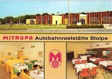 AK, Stolpe Kr. Parchim, Mitropa Autobahn - Raststätte Stolpe, drei Abb., 1987