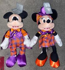 More details for exclusive 2021 disney store halloween mickey mouse & minnie mouse