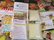 Zitrone Eispulver spez. f. Haushaltseismaschinen, Eis selber machen, Eismaschine
