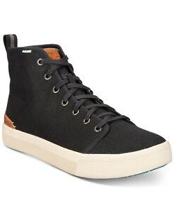 Toms Men's Travel Lite High Top Canvas Sneaker Black