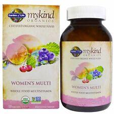 Orgánica para mujer vitamina múltiple jardín de la vida mykind Organics 120 comprimidos Vegano