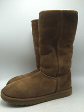 10D3 Ugg Australia 5815 Classic Tall Slip on Cozy Comfy Boots Women Shoes Size 8