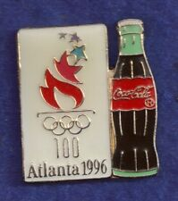 1996 Coca Cola Atlanta Olympic Pin Coke Bottle