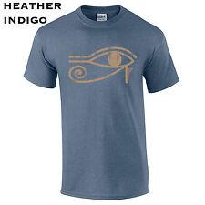 110 Eye of Ra Mens T-Shirt mystic egyptian goddess god sun symbol protect retro