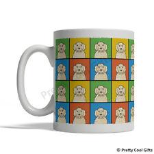 Labradoodle Dog Mug - Cartoon Pop-Art Coffee Tea Cup 11oz Ceramic