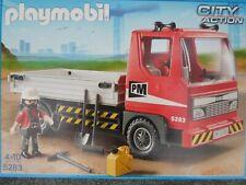Playmobil LKW 5283 und Schubkarre