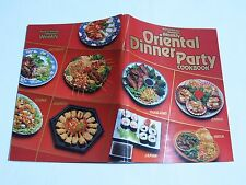 ORIENTAL DINNER PARTY Cookbook Australian Women's Weekly 128pages large p/b vgc