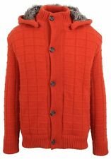 PAUL & SHARK YACHTING Strickjacke Cardigan Winter Jacke Jacket Gr. 2XL Pelz Fell