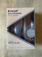 NEW Crest Whitening Emulsions Leave on Whitening Treatment Exp. 10/2022