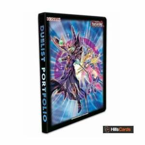 YuGiOh The Dark Magicians 9-Pocket Portfolio Album/Binder Holds 180 Trading Card