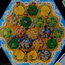 10th Anniversary 3D Settlers of Catan - Slightly Played