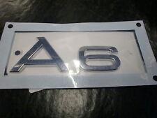 Original Audi A6 Schriftzug Emblem Audi A6 4F Neu 4F0853741  2ZZ