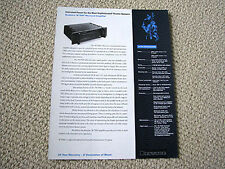 Bryston 7B / 8B, THX power amplifier brochure