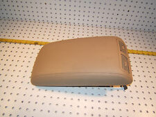 Lexus LS400 1994 Center console leather locking TAN/ BEIGE 1 Cover with 2 Vents