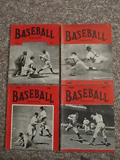 Baseball Magazine, 1921-1949.  FORTY TWO DIFFERENT.